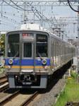 9000系(樽井駅・下りホームから)