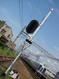 1000系(樽井駅・上りホームから)