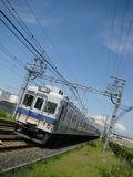 7100系(樽井駅・下りホームから)