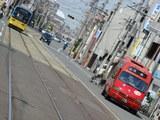 モ701形&大阪市営「赤バス」(塚西〜東粉浜)