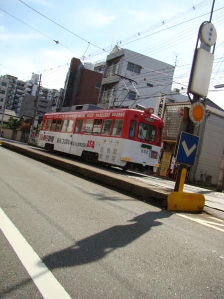 モ351形(東粉浜駅)