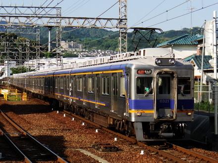 6300系 (三日市町駅から)